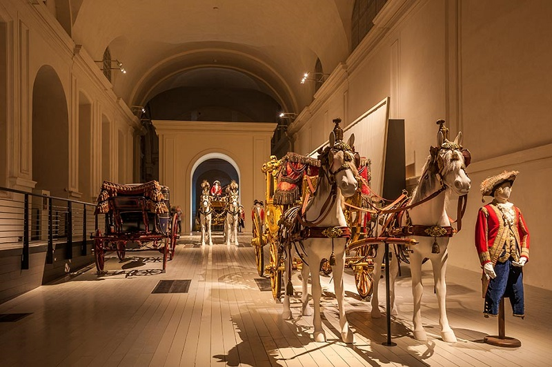 Italy Piedmont Venaria Reale 8th November 2014 - Royal Stables - Exhibition
